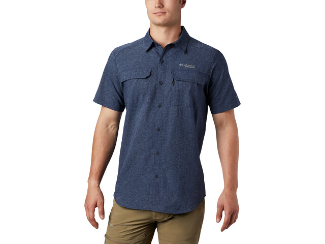 Columbia Irico Camiseta Manga Corta Hombre, azul